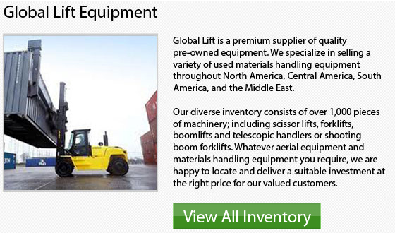 Caterpillar 4 Wheel Drive Forklifts